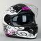 IXS HX 215 Curl Helmet Black-White-Pink