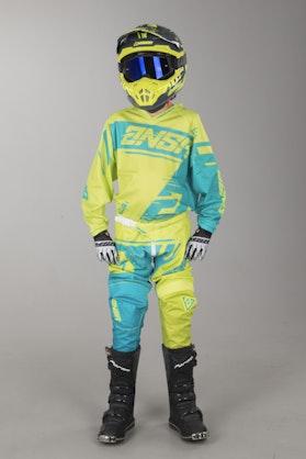 Answer Syncron Air Youth MX-Clothing Kit Acid-Cyan