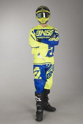 Motokrosové Oblečení Answer Syncron Žlutá-Modrá