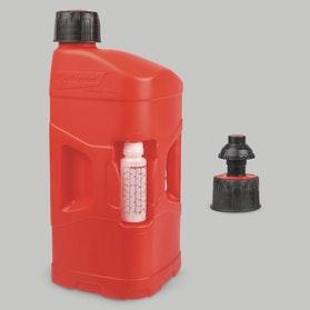 Benzindunk Polisport ProOctane Utility 20L & 250ml Mixer, Klar/Rød