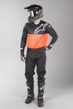 Alpinestars Venture R MX Clothes Black-FlouOrange