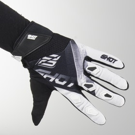 Shot Devo Ultimate MX Gloves Black-White