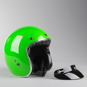RXA Rivoli Open Helmet Green