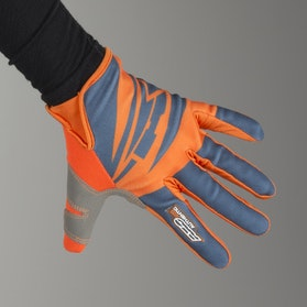 AXO SX MX Gloves Grey & Orange