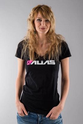 Koszulka Alias Block V-Neck czarna