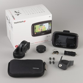 Navigation TomTom Rider 550 World Premium Pack 4,3""