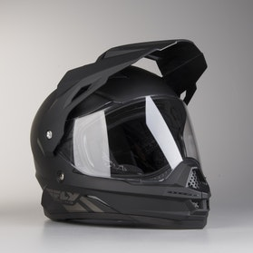FLY Trekker Adventure Helmet Matte Black