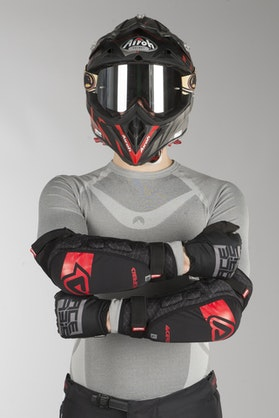 Acerbis Soft X-Elbow Protection Black-Red