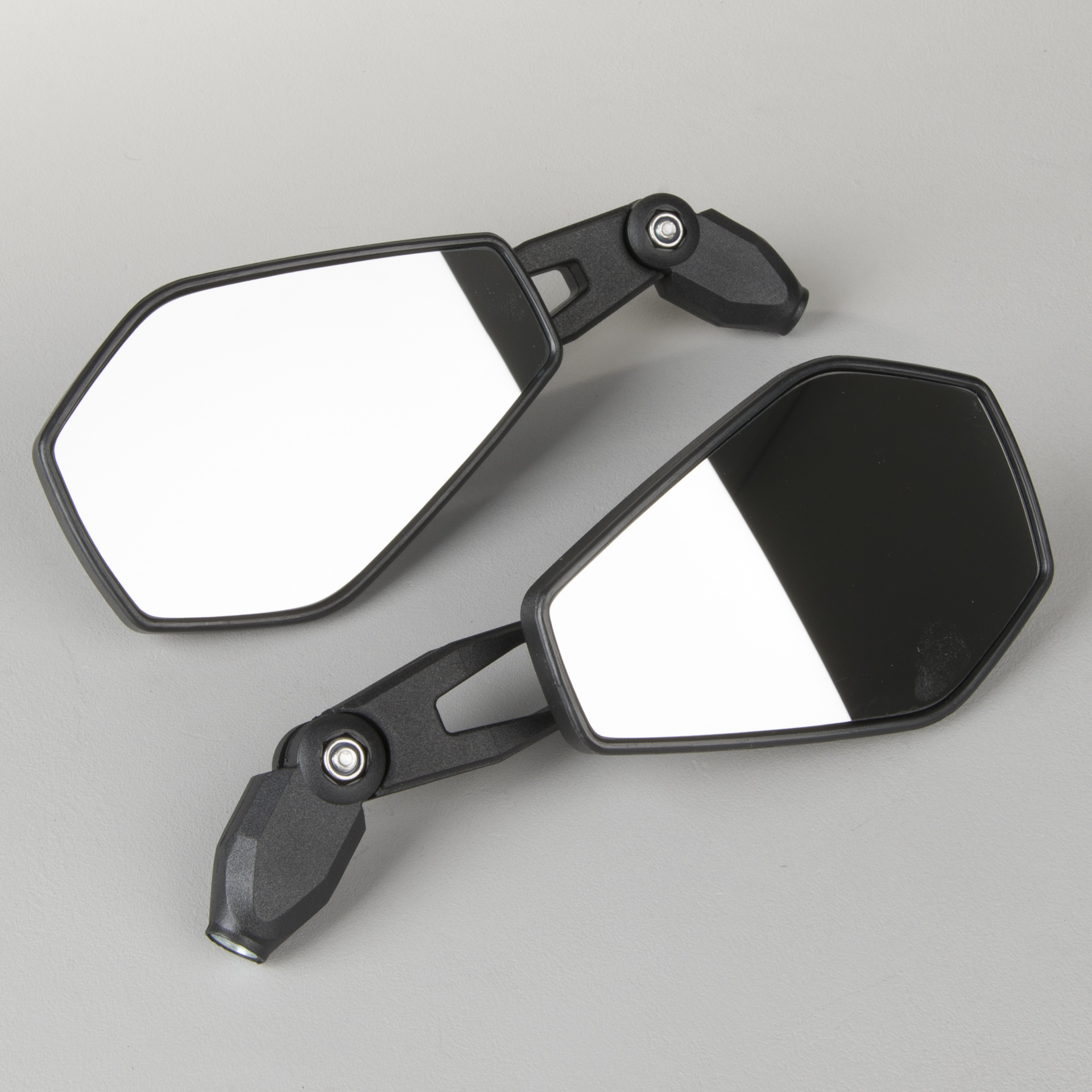 schwarz rechts Kunststoff UNIVERSAL SHIN YO Spiegel RAVENNA