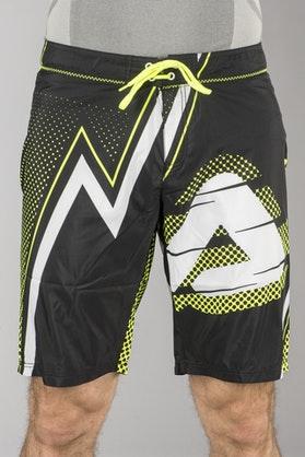 Badeshorts Acerbis SP Club Shorts, Sort/Gul