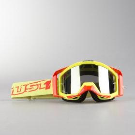 Just1 Iris MX Goggles Neon yellow