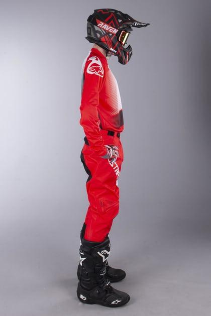 Alpinestars Racer Supermatic MX Clothing Kit Red-Black-White