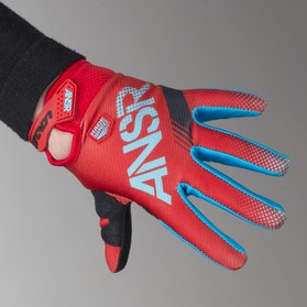 Answer Youth A17 Sync Gloves Cyan-Red