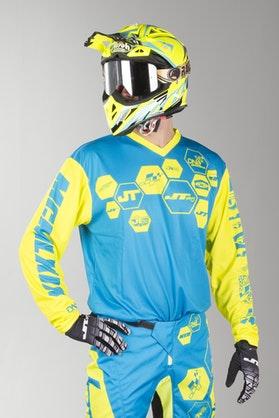Bluza Cross JT Racing Flo Tec-DNA CYNYL