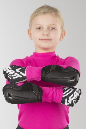 EVS Option Mini Elbow Protection Black