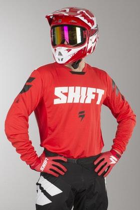 Bluza Cross Shift Whit3 Ninety Seven Czerwona MX 18