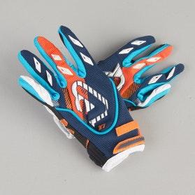 Rękawice Cross Acerbis MX Dziecięce Niebiesko-Pomarańczowe