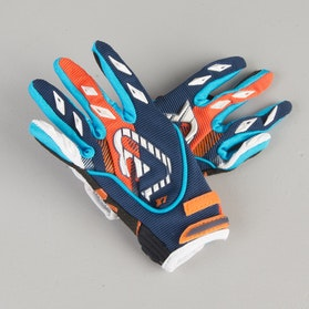 Acerbis MX Youth Cross-Gloves Blue-Orange