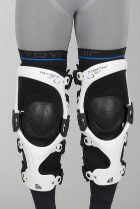 Ochraniacze kolan Revit Tryonic Knee Brace T6 Biały-Czarny