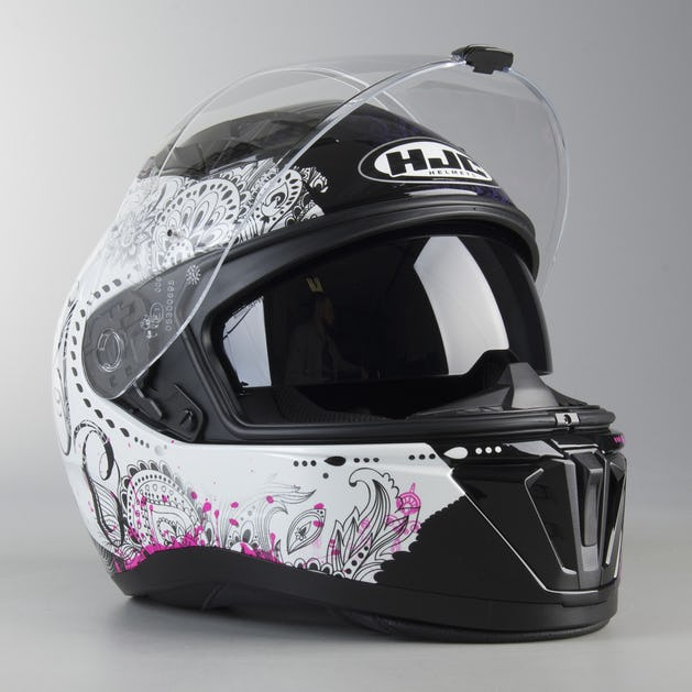 7ee8bcea HJC I 70 Varok Helmet Black-Pink - Now 10% Savings - XLmoto.ie