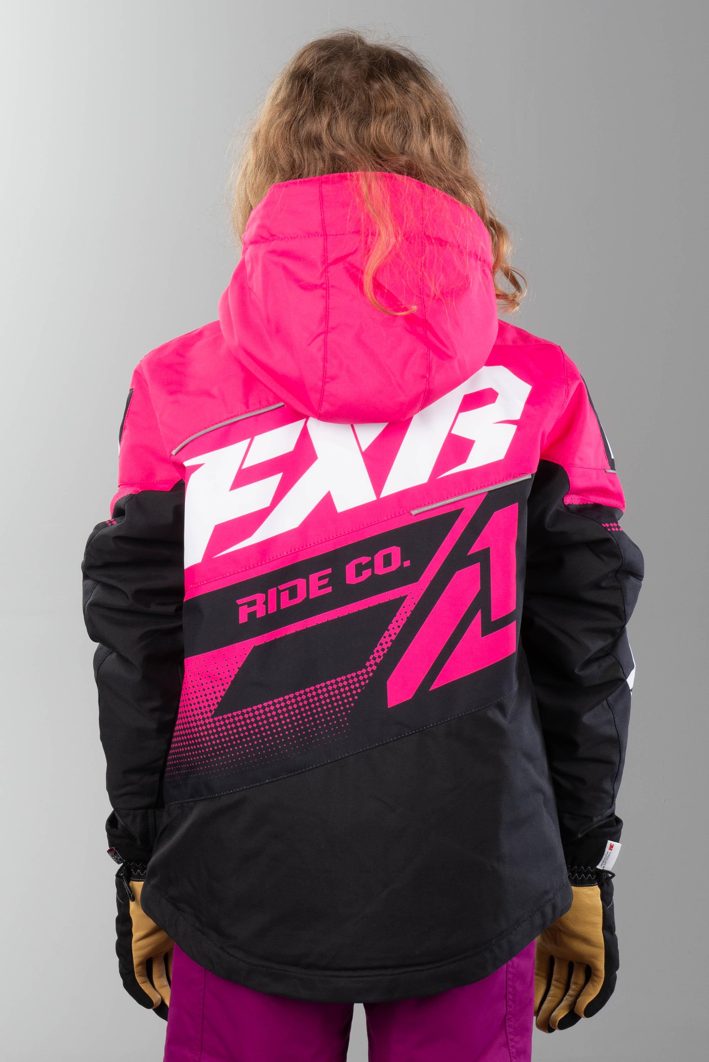 Jakke FXR Boost Junior Rosa Svart Hvit