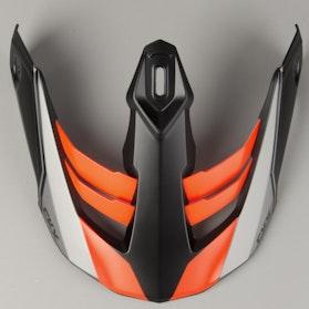 CKX Titan Cliff Helmet Peak - Orange