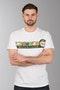 T-Shirt VR46 Cupolino Biały