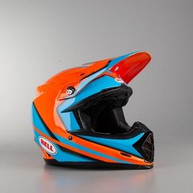 Bell Moto-9 Spark Helmet Orange