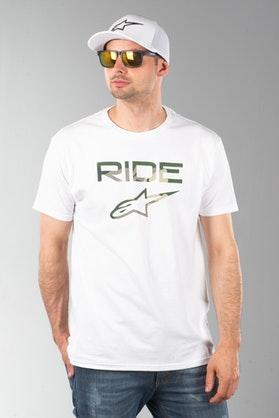 Koszulka Alpinestars Ride 2.0 Camo Biała