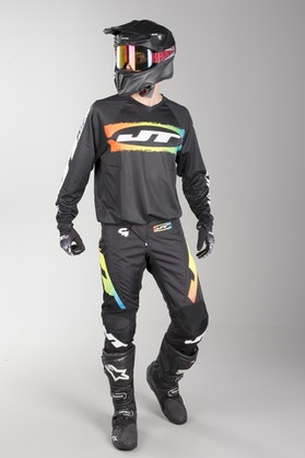 JT Racing C4-Rasta MX Clothes BLKMUL