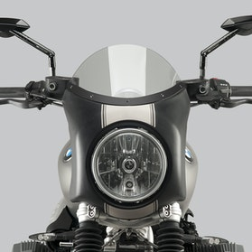 Owiewka Puig Retro BMW Semi-Fairing Przydymiona