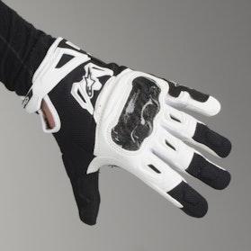Alpinestars SMX-2 Air Carbon V2 Women's Motorcycle Gloves - Light Grey