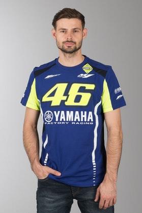T-Shirt VR46 Niebieski