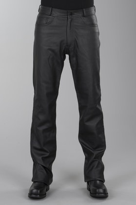 IXS Gaucho 3 Leather Trousers Black