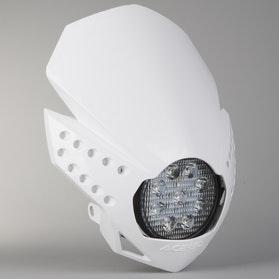Lampa Przednia Acerbis LED Fulmine Biała
