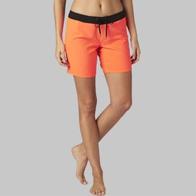 Fox Chargin Shorts Fluo Orange Womens