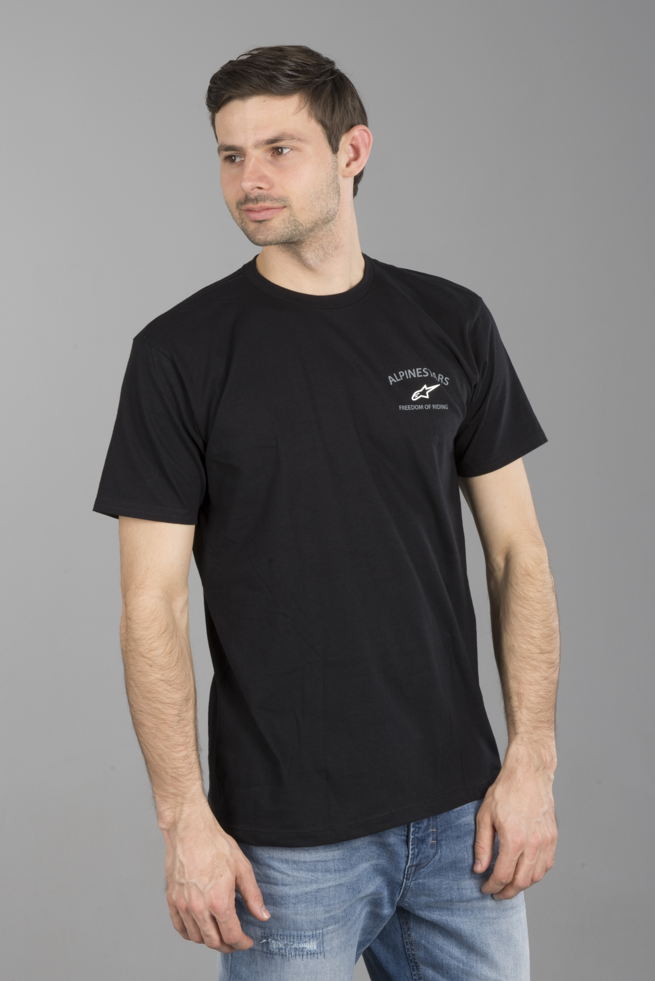 Alpinestars Andres Tee M Charcoal Heather