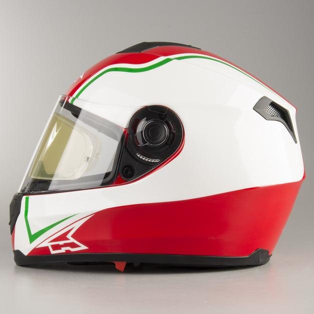 45e41cc9 AXO Corsair Integral Helmet - Italia - Get 20% off today - XLmoto.ie