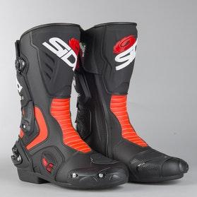 Buty Motocyklowe Sidi Vertigo 2 Czarno-Czerwono-Neonowe