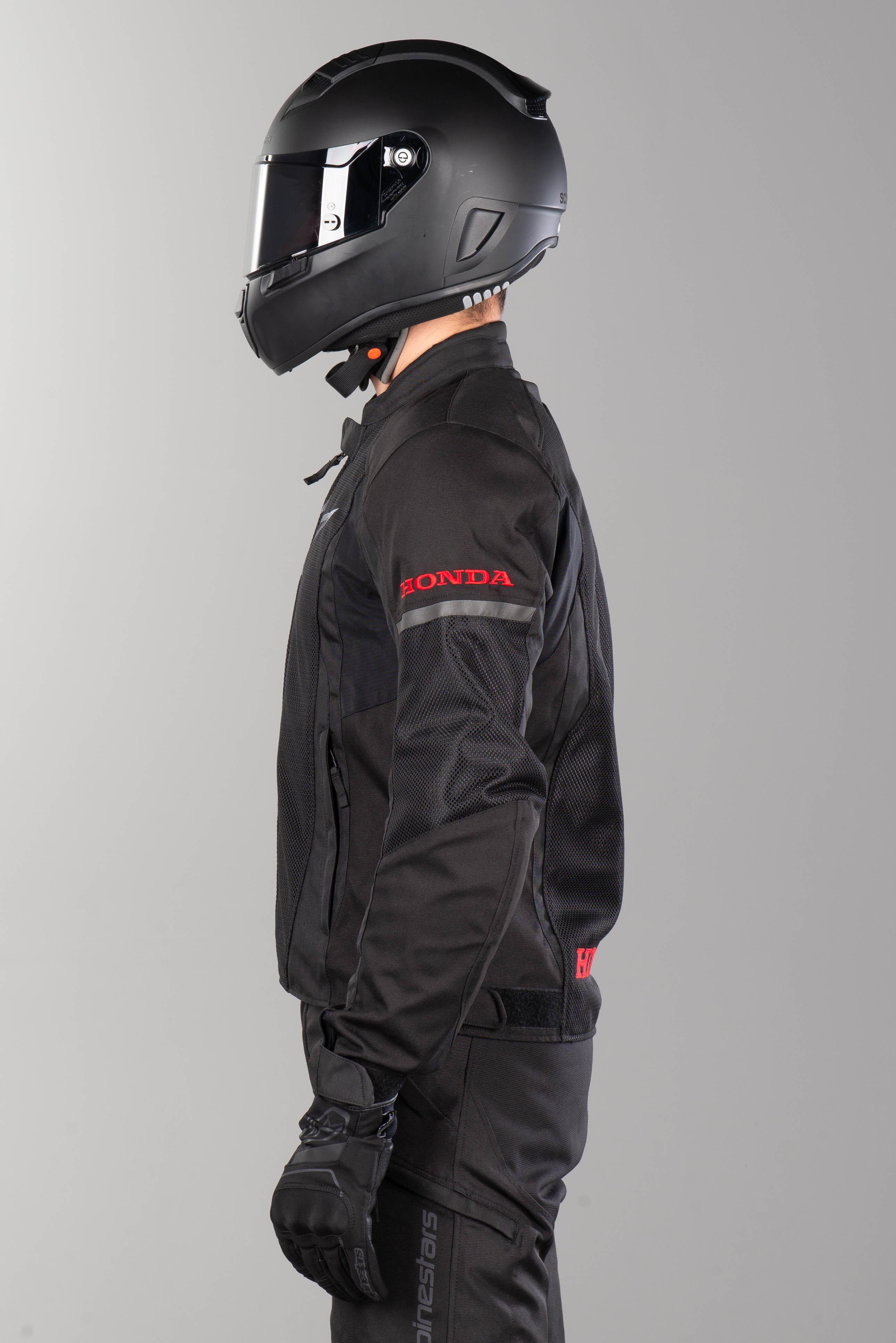 MC Jakke Alpinestars Honda T Faster Air Svart Nå 5% Du