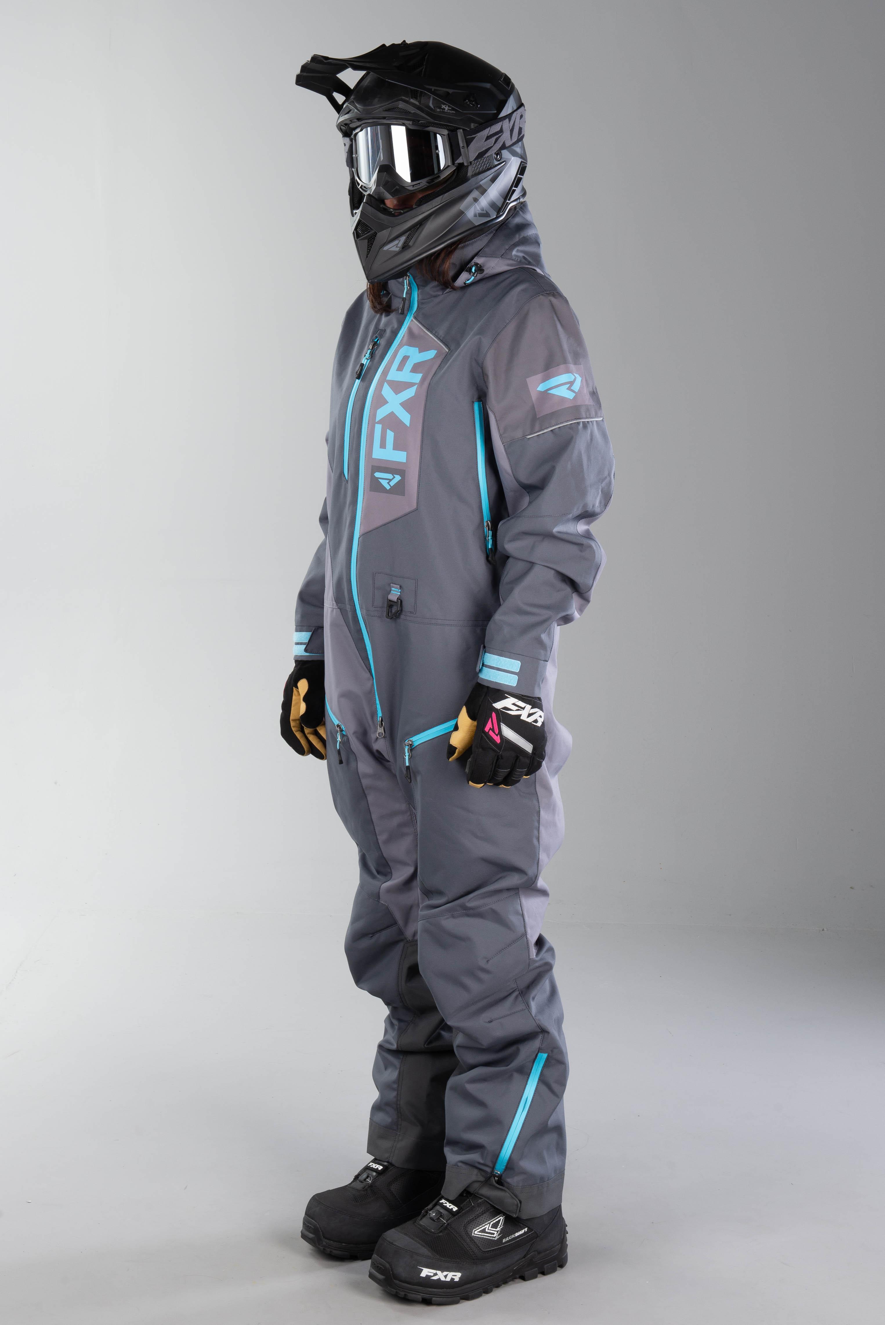 FXR dam overall Recruit Lite Monosuit