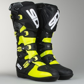 Cross støvler Sidi X-Treme SRS Gul-Fluo-Sort