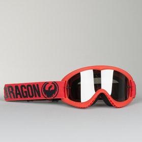 Dragon MX Break Youth Motocross Goggles Red