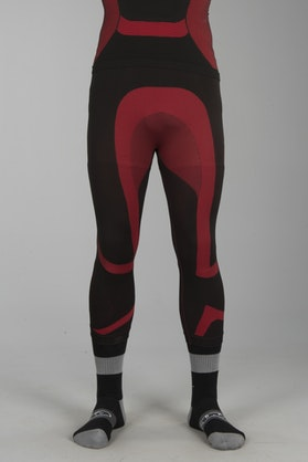 Acerbis 3/4 X-Body Summer Base Layer Trousers Black-Red