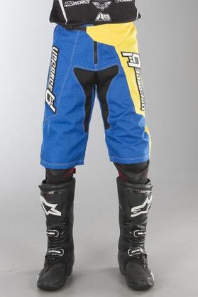 Szorty Upforce Freestyle Niebiesko Żółte