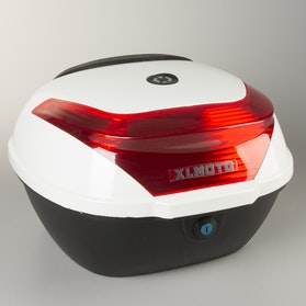XLmoto 26L Top Case White