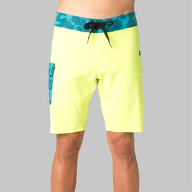 Fox Camino Board Shorts Fluo Yellow