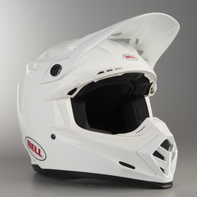 Kask Bell Moto-9 Jednolity Biały