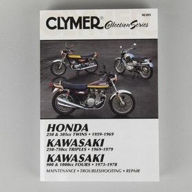 Reparationshåndbog Clymer Japanska Veteranmotorcykler