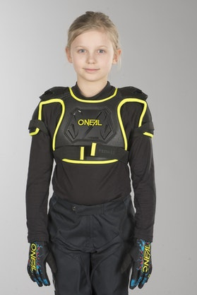 O'Neal Peewee Chest Protection Neon Yellow